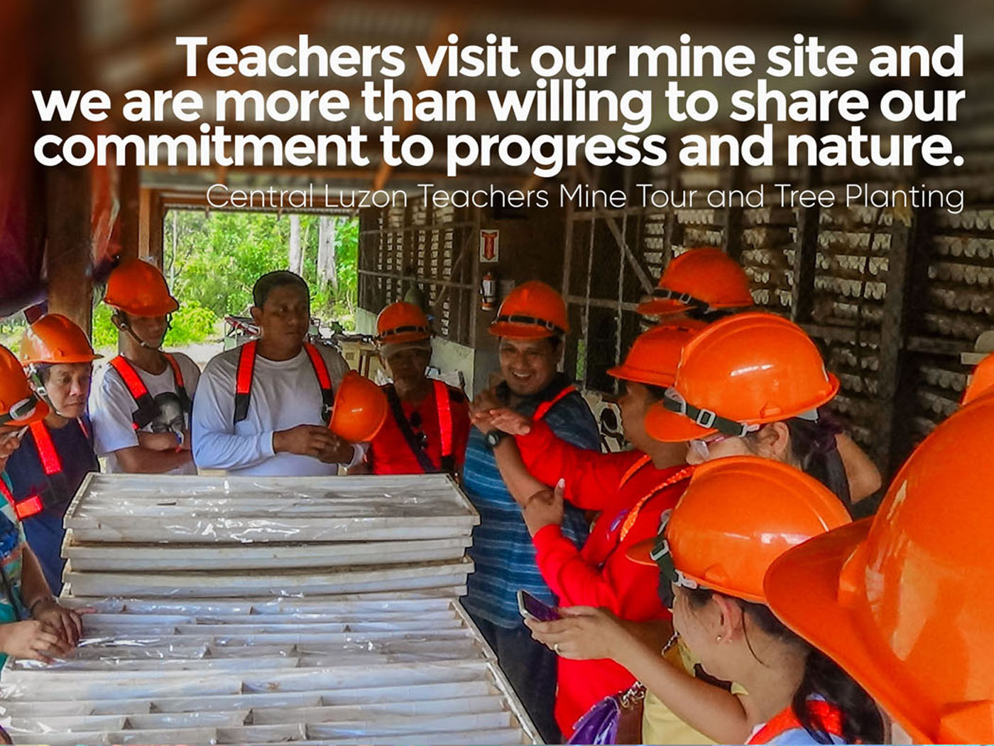 Central Luzon Teachers Mine Tour - 2.0