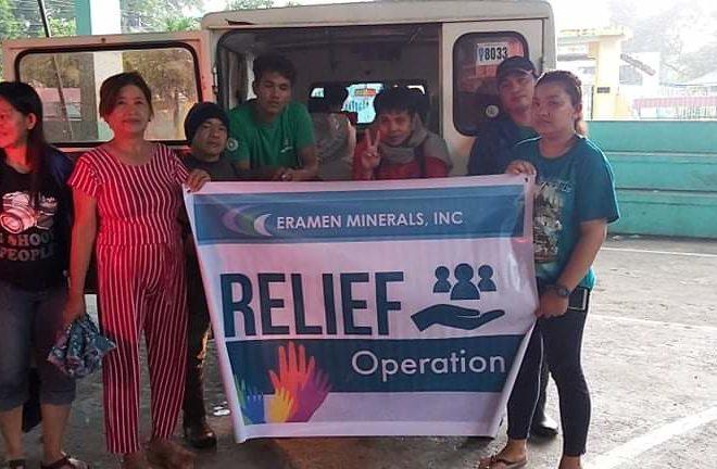 typhoon ineng relief operations - Eramen Minerals Inc.