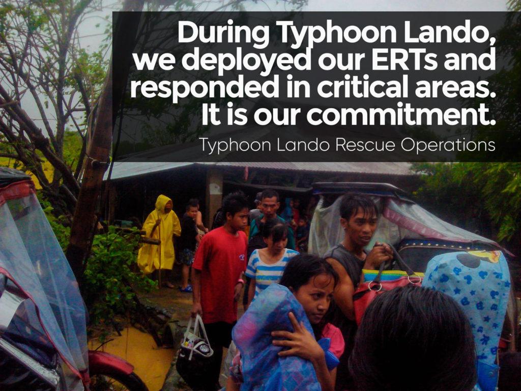 Typhoon Lando Rescue